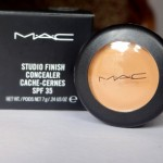 MAC Studio Finish Concealer Review Swatches