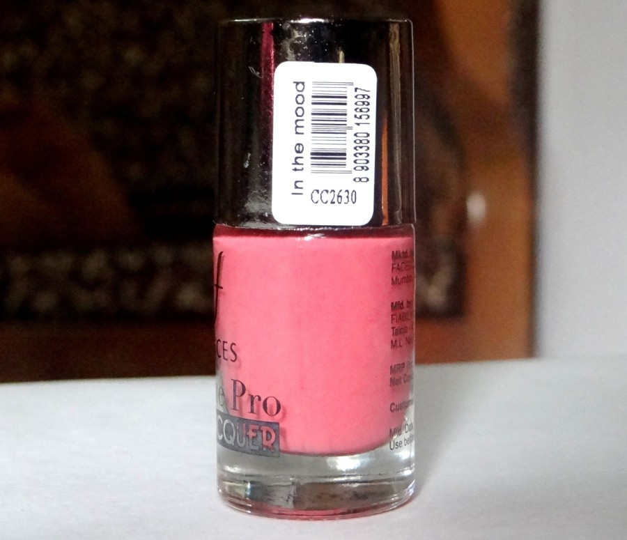 Faces Ultime Pro Nail Lacquer In The Mood Review (1)