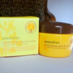 Innisfree Canola Honey Pack and Cream Review