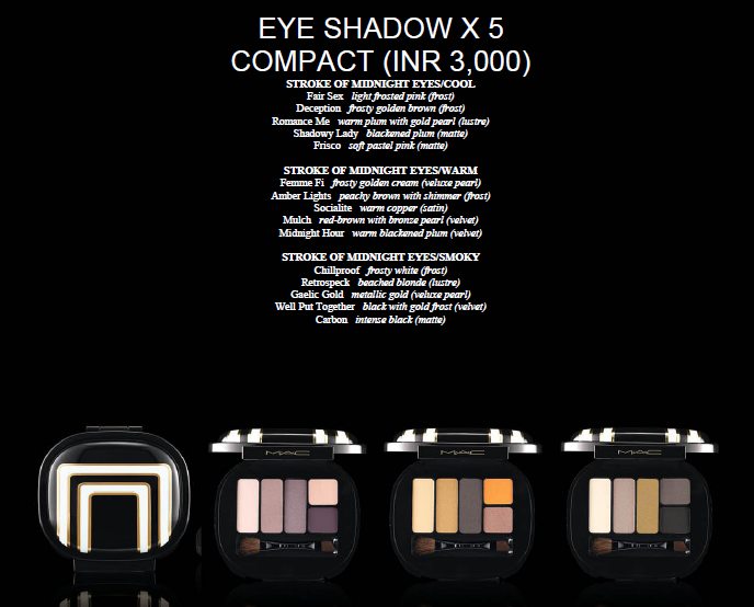 MAC Stroke OF Midnight Collection Pictures 4