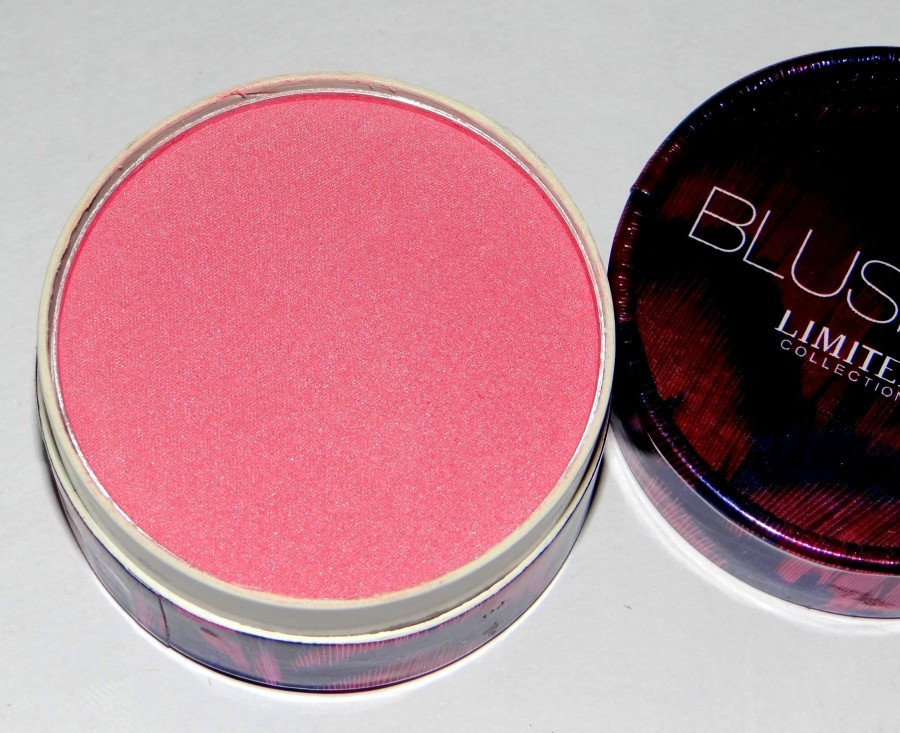 Marks & Spencer Limited Collection Blusher review swatches (3)