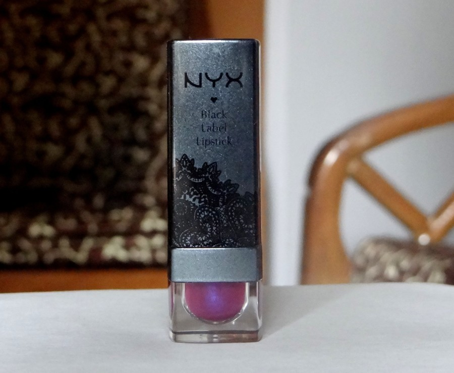 NYX Black Label Lipstick Orchid review swatches (2)