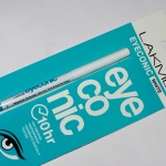 Lakme Eyeconic White Kajal Review Swatches Photos