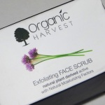 Organic Harvest Exfoliating Face Scrub Review