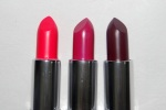 Avon Ultra Color Lipstick Review Swatches – Hot Pink, Hibiscus, Oxford Wine