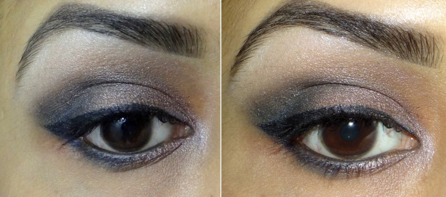 Avon True Color Eyeshadow Quad Glow Teal review swatches photos (9)