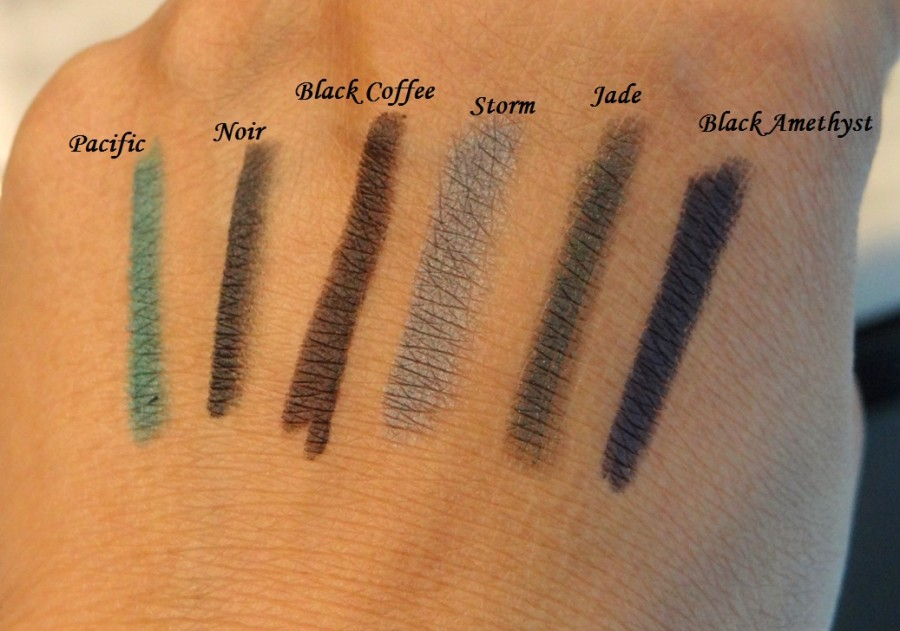 Bobbi Brown Smokey Eye Kajal Liner Swatches (1)