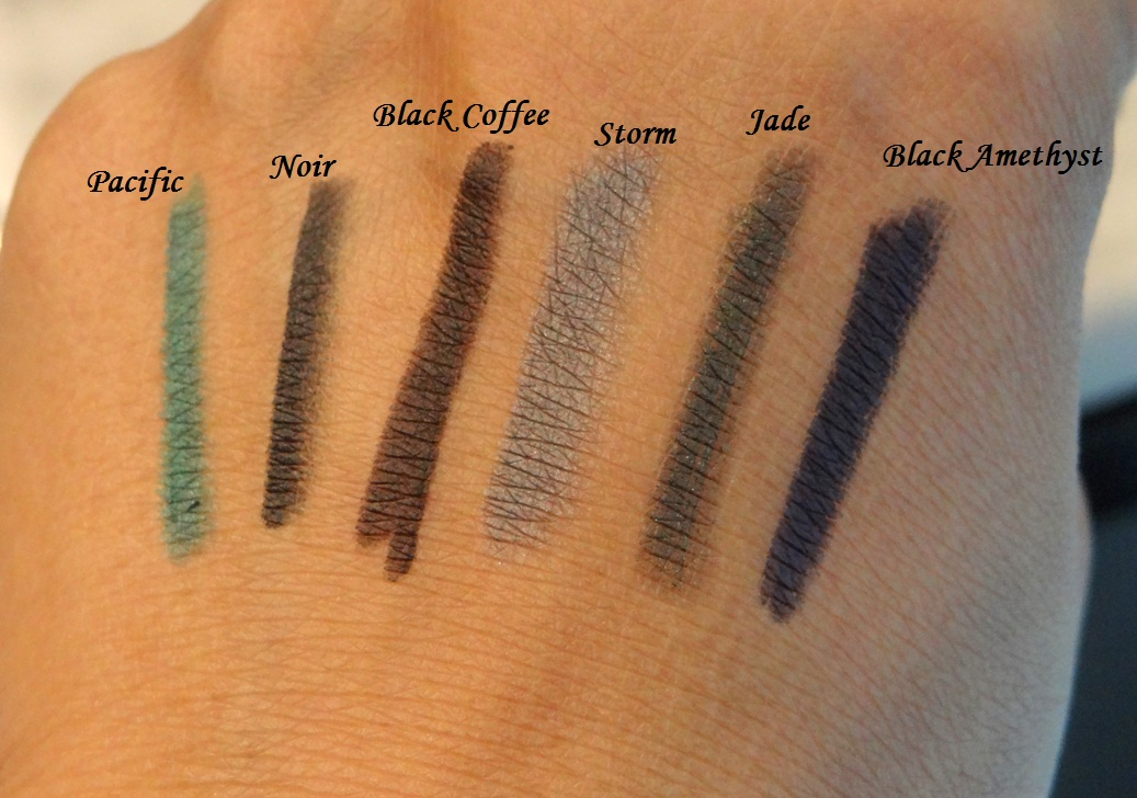 http www bbeautilicious com new product bobbi brown smokey eye kajal liner swatches