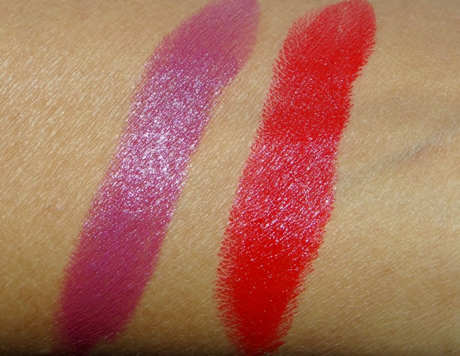 MUA Lipstick review swatches (1)
