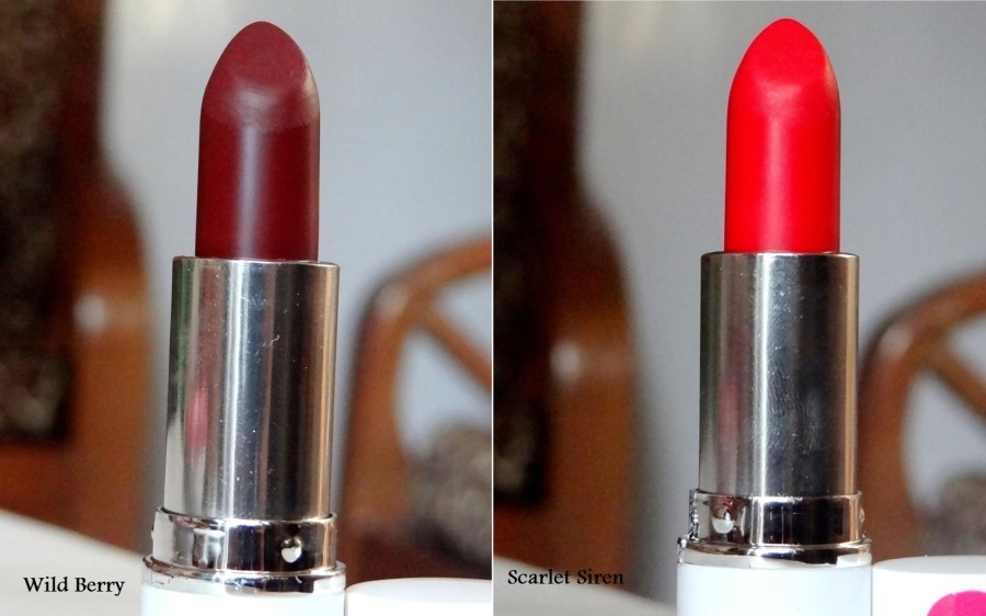 MUA Matte Lipstick Review Swatches Photos (3)
