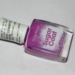 Sally Hansen Sugar Coat Bubble Plum Review