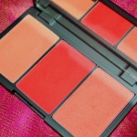 Sleek Makeup Blush By 3 Palette Flame Review Swatches Photos