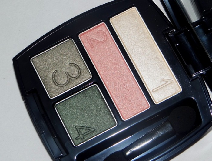 Avon True Color Eyeshadow Quad Emerald Cut review swatches photos (3)