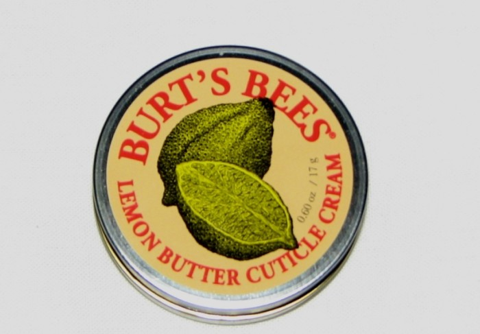 Burt's Bees Lemon Butter Cuticle Cream Review (1)