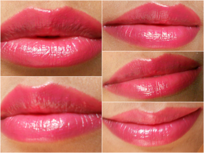 Lancome Rouge in Love Lipstick Rose Des Soupirants Pics (1)