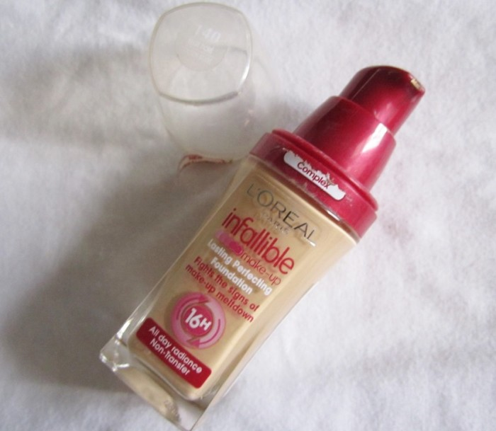 Loreal Paris Infallible Lasting Perfecting Foundation (2)