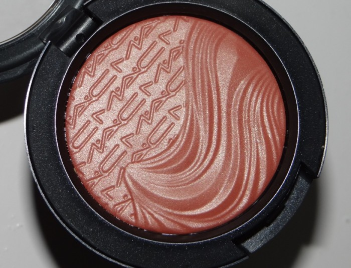 MAC Pleasure Model Extra Dimension Blush review (2)