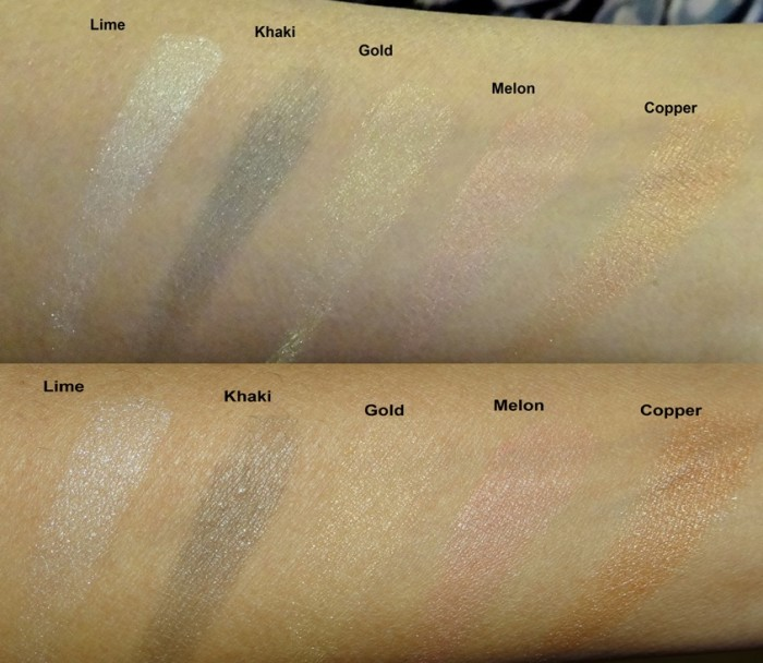 Revlon Colorstay Shadowlinks swatches (2)