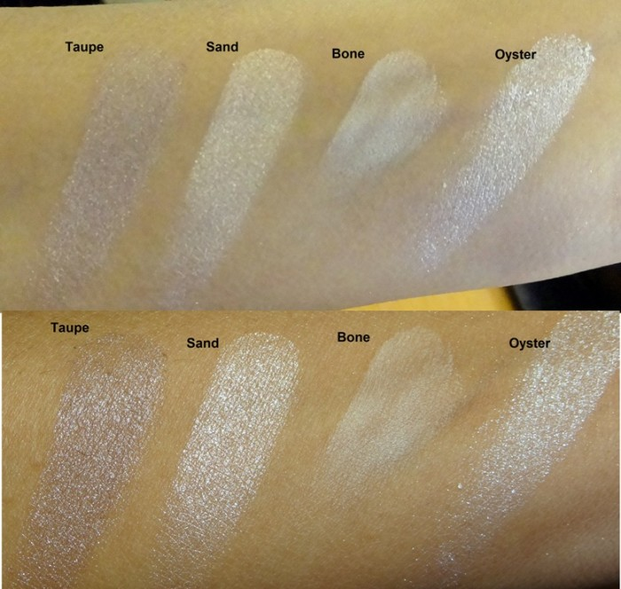 Revlon Colorstay Shadowlinks swatches (3)