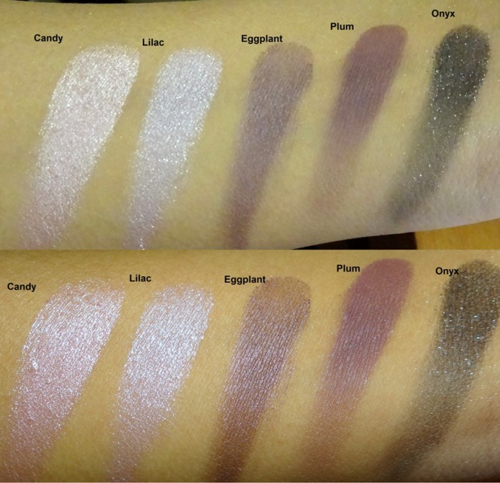Revlon Colorstay Shadowlinks swatches (4)