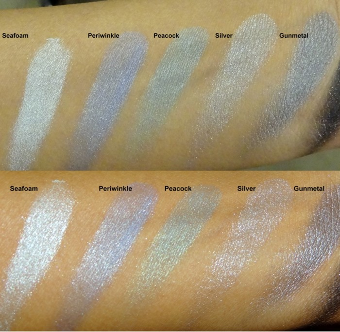 Revlon Colorstay Shadowlinks swatches (5)