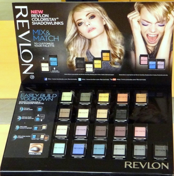 Revlon Colorstay Shadowlinks swatches (6)