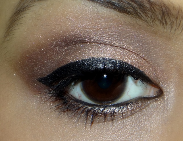 Stay All Day Waterproof Liquid Eye Liner review swatches (3)
