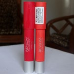 Revlon Colorburst Matte Balm Striking & Audacious Review Swatches