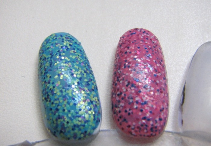 Nails Inc Pudding Lane, Topping Lane Special Effects Nail polish  (2)