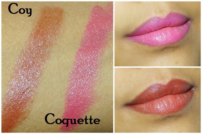 Revlon Coy, Coquette Colorburst Lacquer Balms Review Swatches Photos