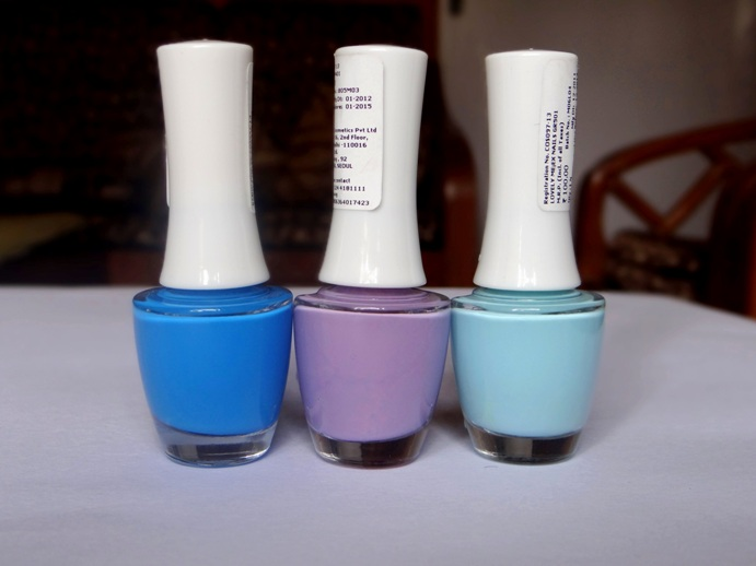 Tha Face Shop Nail Polish swatches photos (2)
