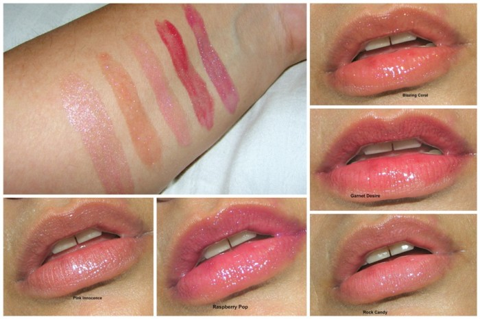 Estee Lauder Travel Exclusive Lip Gloss Set Review Swatches (2)