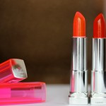Maybelline Popstick Orange Crush, Tropical Pink