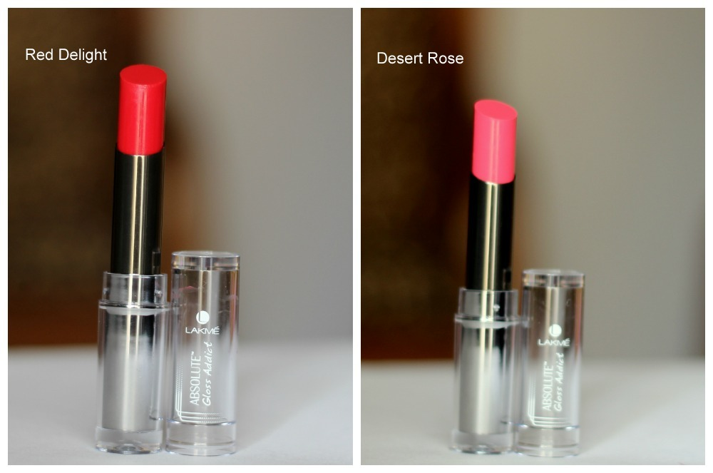 Lakme Absolute Gloss Addict Desert Rose Red Deight Review