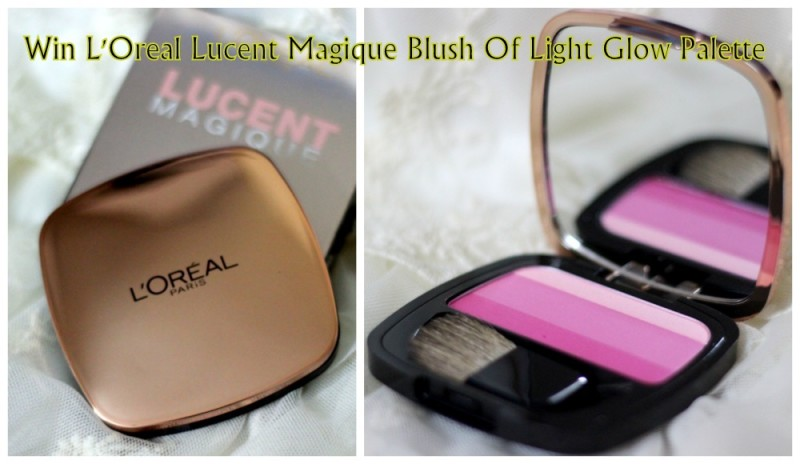 Win L'Oreal Lucent Magique Blush Of Light Glow Palette