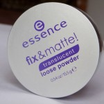 Essence Fix & Matte! Translucent Loose Powder Review