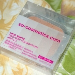 Za Two Way Foundation – True White Review Swatches Photos