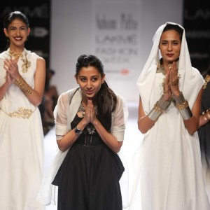 Designer Suhani Pittie at LFW WF 2014
