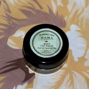Kama Ayurveda Mint Lip Balm Review Photos price (2)