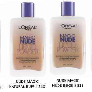 L'Oreal Paris Nude Magic Foundation