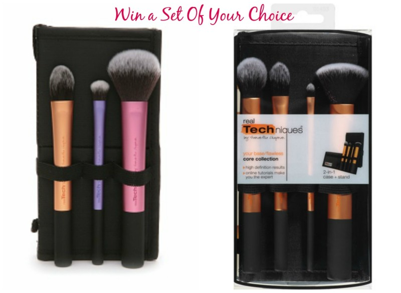 Win Real Techniques Brush Sets - Monthly Giveaway