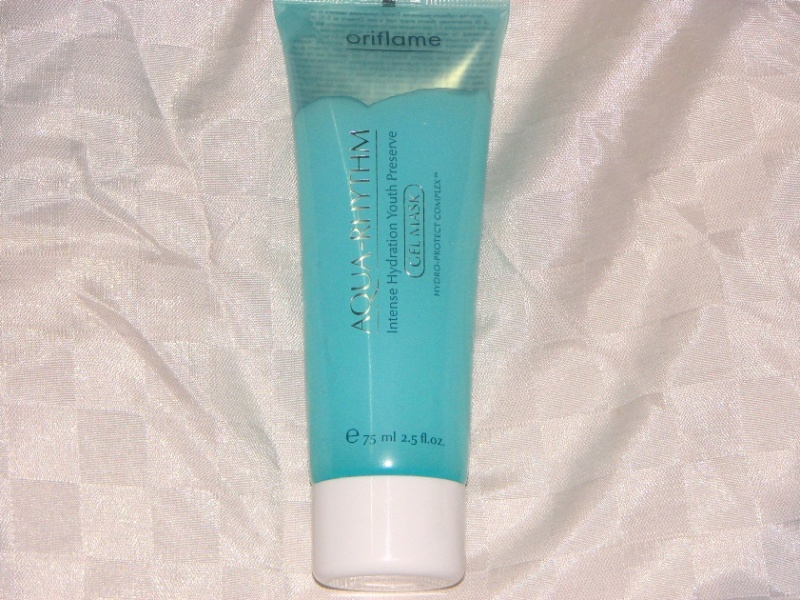 Oriflame Aqua Rhythm Intense Hydration Youth Preserve Gel Mask
