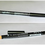 NYX Eyebrow Pencil Black Brown Review Swatches Photos