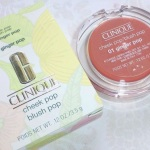Clinique Cheek Pop Blush Ginger Pop Review Swatches Photos