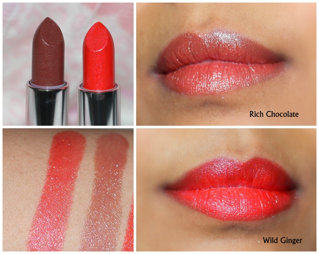 Avon Ultra Color Lipstick Rich Chocolate Wild Ginger Reviewbe