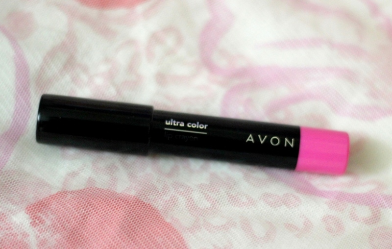 Avon Showstopper Pink Lip Crayon Review Swatches Photos (2)