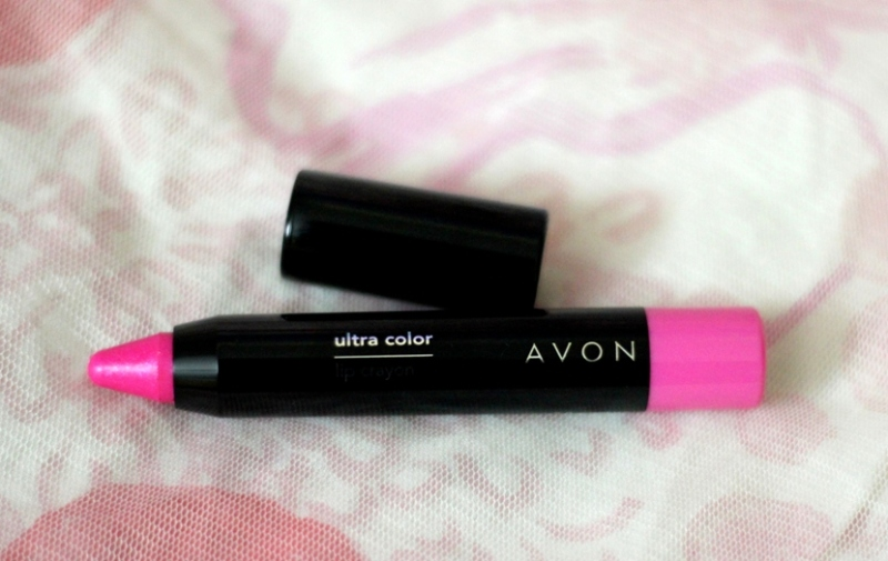 Avon Showstopper Pink Lip Crayon Review Swatches Photos (3)