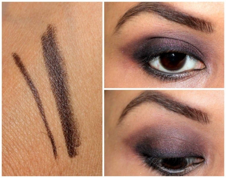 NYX Eyebrow Pencil Black Brown Review Swatches Photos (3)