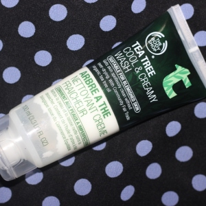 The Body Shop Tea Tree Cool & Creamy Wash review