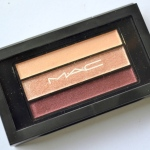 MAC Fabulous Three Veluxe Pearlfusion Shadow Review Swatches Photos